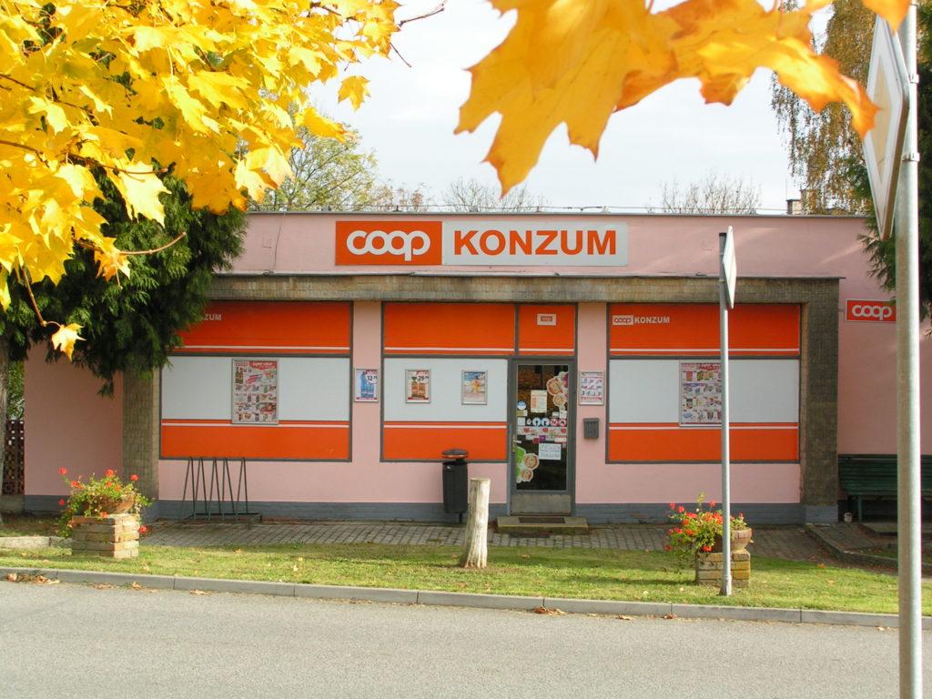 Prodejna Coop Konzum v Novosedlech