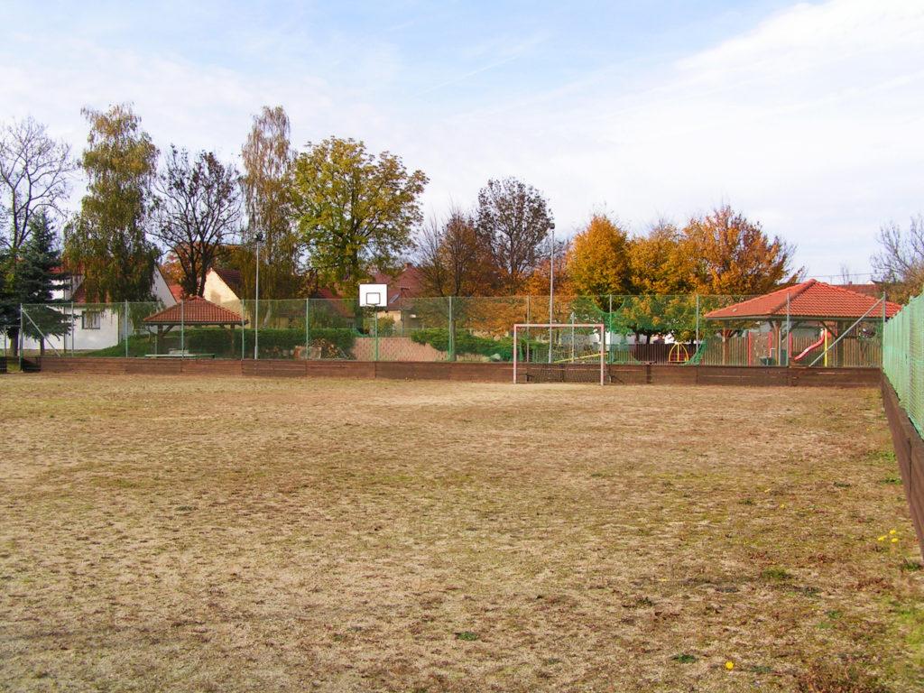 Dětské hřiště v Novosedlech - pohled 2