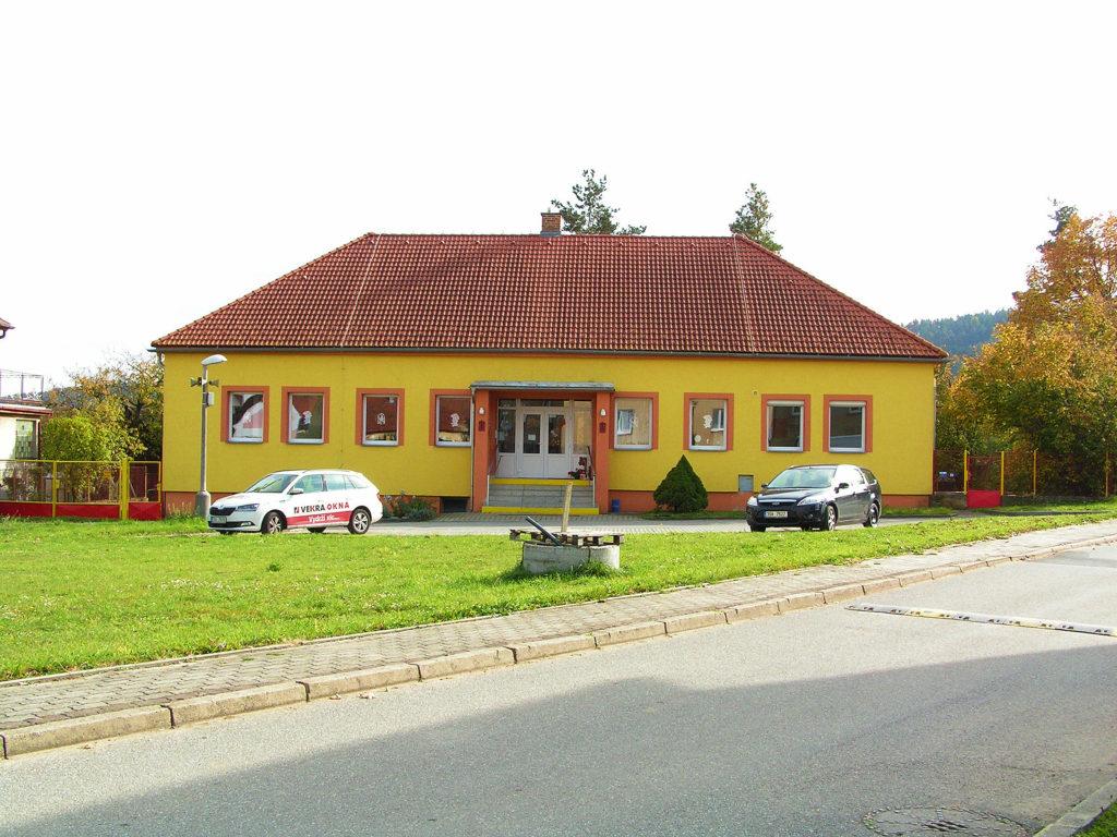Budova Školky v Novosedlech